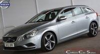 USED 2012 12 VOLVO V60 1.6D R-DESIGN e-DRIVE 5 DOOR 6-SPEED 113 BHP Finance? No deposit required and decision in minutes.