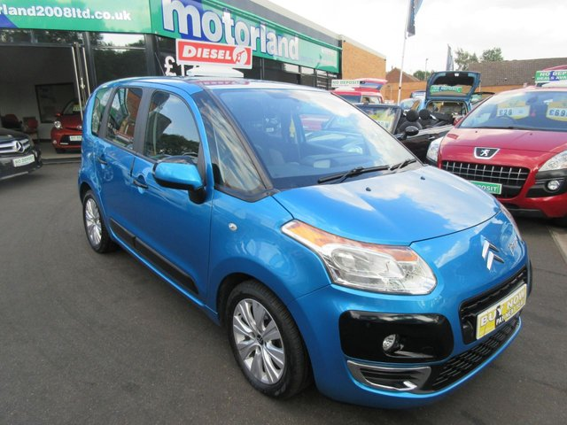 USED 2012 62 CITROEN C3 PICASSO 1.6 PICASSO VTR PLUS HDI 5d 91 BHP BUY NOW PAY NEXT YEAR...NO DEPOSIT DEALS