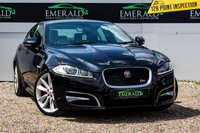 USED 2014 64 JAGUAR XF 3.0 D V6 S PORTFOLIO 4d AUTO 275 BHP £0 DEPOSIT FINANCE AVAILABLE, AIR CONDITIONING, BLUETOOTH CONNECTIVITY, CLIMATE CONTROL, CRUISE CONTROL, DAB RADIO, FULL LEATHER UPHOLSTERY, MERIDIAN SURROUND SOUND, REVERSE CAMERA, SATELLITE NAVIGATION, STEERING WHEEL CONTROLS