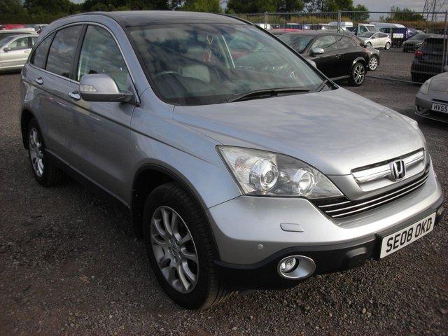2008 08 HONDA CR-V 2.2 I-CTDI EX 5d 139 BHP