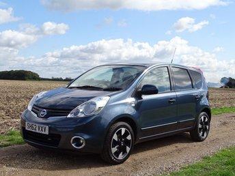 2012 NISSAN NOTE 1.6 N-TEC PLUS 5d AUTO 110 BHP £7495.00