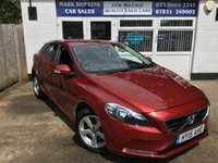 USED 2015 15 VOLVO V40 1.6 D2 ES 5d AUTO 113 BHP 40K 1 LOCAL FAMILY OWNER HIGH SPEC CRUISE BLUETOOTH EXC CONDITION