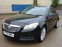 USED 2009 09 VAUXHALL INSIGNIA 2.0 SE CDTI 4d 130 BHP 2 PREVIOUS KEEPERS +  BLUETOOTH +  CRUISE CONTROL +  DAB RADIO +  MOT MARCH 2019 +  HALF LEATHER TRIM