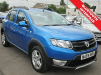 USED 2014 64 DACIA SANDERO 0.9 STEPWAY AMBIANCE TCE 5d 90 BHP 61.4 MPG EXTRA - ONLY GROUP 7 INSURANCE