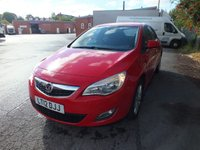 USED 2012 12 VAUXHALL ASTRA 1.4 ACTIVE 5d 98 BHP