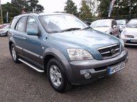 USED 2003 03 KIA SORENTO 2.5 XE CRDI 5d AUTO 138 BHP SPACIOUS  FAMILY CAR WITH SERVICE HISTORY, GREAT SPEC, DRIVES SUPERBLY, OUTSTANDING VALUE !!!