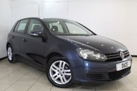 USED 2009 09 VOLKSWAGEN GOLF 1.4 SE TSI 5DR 121 BHP FULL SERVICE HISTORY + BLUETOOTH + CRUISE CONTROL + PARKING SENSOR + AIR CONDITIONING + RADIO/CD + ELECTRIC WINDOWS + 16 INCH ALLOY WHEELS