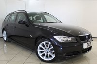 USED 2008 08 BMW 3 SERIES 2.0 320D EDITION SE TOURING 5DR AUTOMATIC 174 BHP SERVICE HISTORY + HEATED LEATHER SEATS + BLUETOOTH + CRUISE CONTROL + PARKING SENSOR + MULTI FUNCTION WHEEL + CLIMATE CONTROL + 17 INCH ALLOY WHEELS