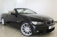 USED 2009 09 BMW 3 SERIES 3.0 325D M SPORT HIGHLINE 2DR AUTOMATIC 195 BHP SERVICE HISTORY + HEATED LEATHER SEATS + SAT NAVIGATION + BLUETOOTH + CRUISE CONTROL + MULTI FUNCTION WHEEL + CLIMATE CONTROL + 19 INCH ALLOY WHEELS