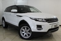 USED 2012 62 LAND ROVER RANGE ROVER EVOQUE 2.2 SD4 PURE 5DR 190 BHP SERVICE HISTORY + HEATED LEATHER SEATS + BLUETOOTH + CRUISE CONTROL + CLIMATE CONTROL + MULTI FUNCTION WHEEL + 18 INCH ALLOY WHEELS