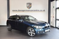 USED 2014 14 BMW 1 SERIES 2.0 116D SPORT 5DR 114 BHP + FULL SERVICE HISTORY + SATELLITE NAVIGATION + BLUETOOTH + SPORT SEATS + LIGHT PACKAGE + PARKING SENSORS + DAB RADIO + 17 INCH ALLOY WHEELS +