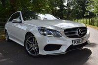 USED 2013 63 MERCEDES-BENZ E CLASS 3.0 E350 BLUETEC AMG SPORT 4d 249 BHP 63,000 MILES, FULL SERVICE HISTORY, ONE OWNER, SAT NAV, PANORAMIC ROOF, FULL LEATHER WITH HEATED SEATS, BLUETOOTH CONNECTIVITY, CRUISE CONTROL + MUCH MORE!