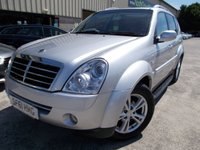 USED 2011 61 SSANGYONG REXTON 2.7 270 EX 5d AUTO 163 BHP Excellent Value Large SUV/4x4, Brillaint for Towing, No Deposit Necessary, 7 Seat Version