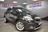USED 2015 64 VAUXHALL MOKKA 1.4 SE S/S 5d 138 BHP Full Leather interior, Bluetooth, Cruise control, 1 Owner , Privacy glass