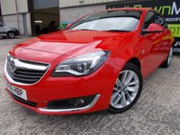 USED 2016 16 VAUXHALL INSIGNIA 1.6 SRI NAV CDTI S/S 5d 134 BHP FSH, One Owner, Superb Condition, No Fee, No Deposit Necessary Finance, VX Line Wheels