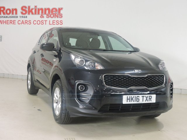 View our 2016 16 KIA SPORTAGE (126)    1.6 1 5d 130 BHP
