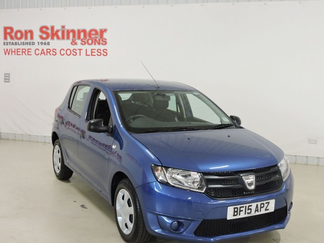 View our 2015 15 DACIA SANDERO 1.1 AMBIANCE 5d 75 BHP