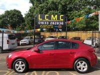 2012 CHEVROLET CRUZE 1.6 LT 5d 124 BHP £4699.00