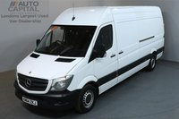 USED 2014 64 MERCEDES-BENZ SPRINTER 2.1 313 CDI 129 BHP LWB HIGH ROOF ONE OWNER, SERVICE HISTORY