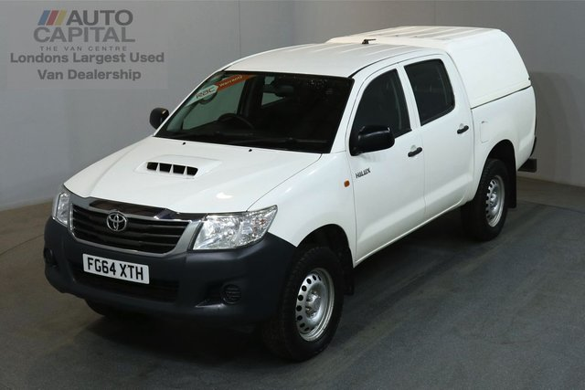 2014 64 TOYOTA HI-LUX 2.5 ACTIVE 4X4 142 BHP MWB AIR CON MOT UNTIL 09/08/2019