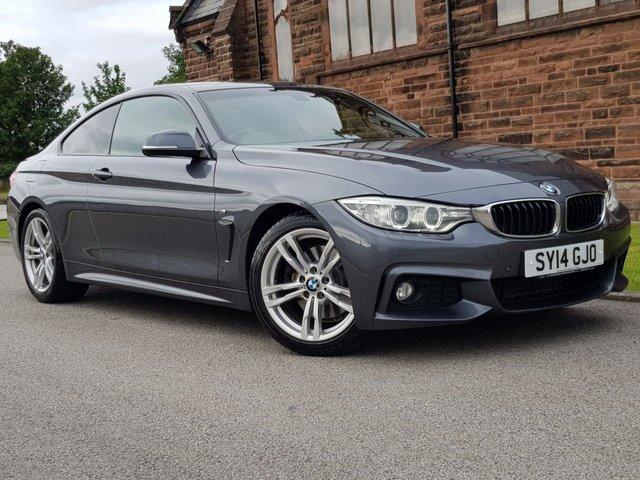 2014 14 BMW 4 SERIES 3.0 430D M SPORT 2d AUTO 255 BHP