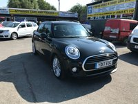 USED 2017 S MINI HATCH COOPER 1.5 COOPER D 5 DOOR AUTOMATIC 114 BHP IN BLACK WITH ONLY 15000 MILES. APPROVED CARS ARE PLEASED TO OFFER THIS  MINI HATCH COOPER 1.5 COOPER D 5 DOOR AUTOMATIC 114 BHP IN BLACK WITH ONLY 15000 MILES IN AS NEW CONDITION WITH SAT NAV,XL MEDIA PACK,AIR CON,HALF LEATHER SEATS,ALLOYS AND MUCH MORE WITH MINI SERVICE HISTORY A GREAT EXAMPLE IN BLACK