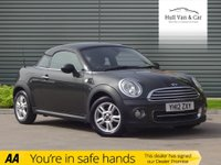 USED 2012 12 MINI COUPE 1.6 COOPER 2d 120 BHP DAB, BLUETOOTH, COUPE, SENSORS