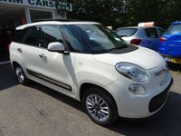 USED 2014 14 FIAT 500L MPW 1.2 MULTIJET LOUNGE DUALOGIC 7 SEATER 5d AUTOMATIC 85 BHP Low Mileage, One Lady Owner from new, Full Service History, Just Serviced by ourselves, MOT until March 2019, 7 Seater, Automatic, Diesel, Excellent fuel economy! Only £20 Road Tax!
