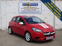 USED 2015 65 VAUXHALL CORSA 1.2 STING 3d 69 BHP All Vauxhall History Bluetooth 0% Deposit Finance Available