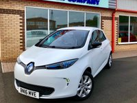 USED 2016 16 RENAULT ZOE 0.0 DYNAMIQUE NAV 5d AUTO 92 BHP
