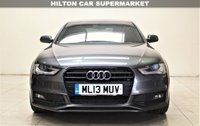 USED 2013 13 AUDI A4 2.0 TDI S LINE BLACK EDITION 4d AUTO 174 BHP + TOP SPEC WITH ALL THE EXTRAS