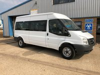 USED 2008 57 FORD TRANSIT 2.4 350 LWB SHR 15 STR 1d 100 BHP MINIBUS 15 SEATER  ***FINANCE AVAILABLE *** CALL NOW OR APPLY ONLINE -  MORE IN STOCK!!!