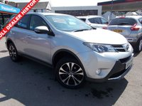 USED 2015 64 TOYOTA RAV4 2.2 D-4D ICON 5d 150 BHP AWD SUV ESTATE FINANCE AVAILABLE