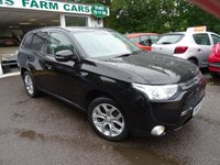 USED 2015 15 MITSUBISHI OUTLANDER 2.0 PHEV GX 3H 5d PLUG-IN HYBRID (PHEV) AUTOMATIC 4x4 162 BHP FOUR WHEEL DRIVE Comprehensive Service History (Mitsubishi x 2 + ourselves), One Lady Owner from new, NEW MOT (to be completed), Automatic, Four Wheel Drive, Plug-In Hybrid (PHEV), Manufacturer Stated mpg over 130! Balance of Mitsubishi Warranty until 2020 / 62,500 miles & Balance of Mitsubishi Battery Warranty until 2023 / 100,000 miles. 3-Pin UK Charger Included.