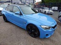 USED 2015 15 BMW M3 3.0 M3 4d AUTO 426 BHP SAT NAV, LED HEADLIGHTS, HARMON KARDON SOUND SYSTEM, BLACK HEATED LEATHER