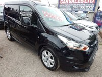 USED 2015 15 FORD TRANSIT CONNECT 1.6 200 LIMITED P/V 1d 114 BHP ALLOY WHEELS, AIR CONDITIONING, F.S.H, REAR PARKING SENSORS, F.S.H, RECENT CAMBELT