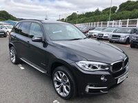 USED 2014 R BMW X5 3.0 XDRIVE30D SE 5d 255 BHP £8,750 in cost options inc 20 inch M-Sport alloys, panoramic glass sunroof