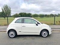 2013 FIAT 500 1.2 LOUNGE 3d 69 BHP £5495.00