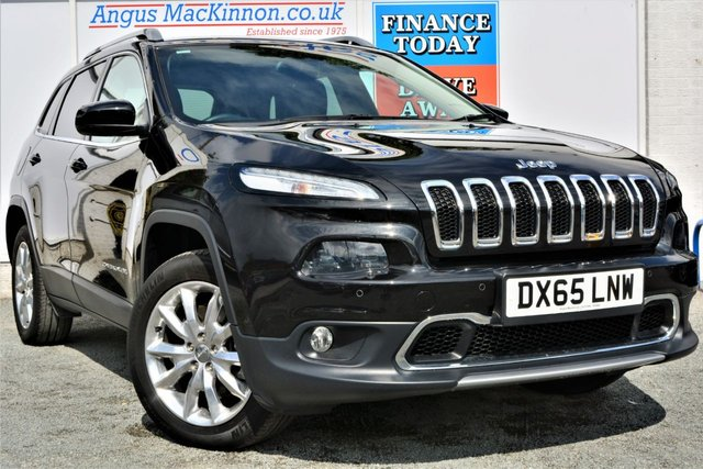 2015 65 JEEP CHEROKEE 2.2 M-JET II LIMITED 4x4 AUTO 5dr SUV with the Lowest Mileage in the UK