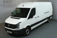 USED 2013 13 VOLKSWAGEN CRAFTER 2.0 CR35 107 LWB HIGH ROOF LONG WHEELBASE, HIGH ROOF