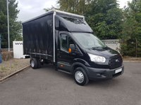 USED 2015 15 FORD TRANSIT 350 2.2 CURTAINSIDER DRW 155 BHP **70 VANS IN STOCK**