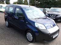 USED 2010 10 FIAT QUBO 1.4 ACTIVE 5d 73 BHP SPACIOUS  FAMILY CAR WITH EXCELLENT SERVICE HISTORY, VERY ECONOMICAL & RELIABLE, DRIVES SUPERBLY !!