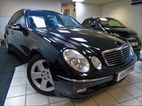 2004 MERCEDES-BENZ E CLASS 5.0 E500 AVANTGARDE 4d AUTO 302 BHP £5995.00