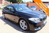 USED 2011 11 BMW 5 SERIES 3.0 535D M SPORT 4d 295 BHP FBMWSH + Head Up + Pro Nav