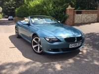 2008 BMW 6 SERIES 3.0 630I SPORT 2d AUTO 269 BHP COVERTIBLE PLEASE CALL TO VIEW £12450.00