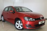 USED 2015 15 VOLKSWAGEN GOLF 2.0 MATCH TDI BLUEMOTION TECHNOLOGY 5DR 148 BHP FULL SERVICE HISTORY + SAT NAVIGATION + BLUETOOTH + PARKING SENSOR + CRUISE CONTROL + MULTI FUNCTION WHEEL + AIR CONDITIONING + 16 INCH ALLOY WHEELS