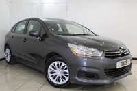 USED 2013 13 CITROEN C4 1.6 HDI VTR 5DR 91 BHP SERVICE HISTORY + CRUISE CONTROL + MULTI FUNCTION WHEEL + AIR CONDITIONING + RADIO/CD + ELECTRIC WINDOWS