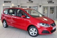 USED 2014 14 SEAT ALHAMBRA 2.0 CR TDI ECOMOTIVE S 5d 140 BHP FULL SERVICE HISTORY + 7 SEATER + 17 INCH ALLOYS + PARKING SENSORS + AUTOMATIC LIGHTS + AIR CONDITIONING