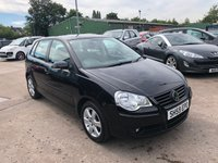 USED 2009 59 VOLKSWAGEN POLO 1.4 MATCH 5d 79 BHP FULL SERVICE HISTORY