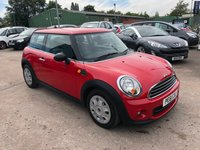 USED 2011 61 MINI HATCH ONE 1.6 ONE 3d 98 BHP SERVICE HISTORY